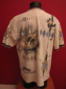 Mickey Mouse Bowling Disney Bowl A Rama Strike Polo Shirt Size XXL 2