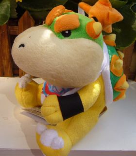 New Super Mario Bowser Jr Plush Doll Toy 8 Collectible Figures Lovely