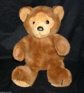 13 VINTAGE R DAKIN BROWN TEDDY BEAR 1986 STUFFED ANIMAL PLUSH SOFT TOY