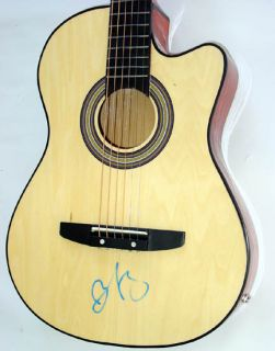 Brad Paisley Autographed Signed Acoustic Guitar &Video Proof PSA UACC