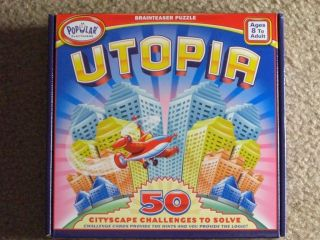 New Utopia Brain Teaser Puzzle Game by Popular Playthings