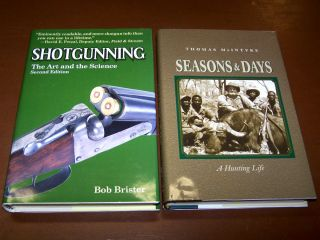 Set Big Game Hunting Shotgunning Art Science Thomas McIntyre Brister