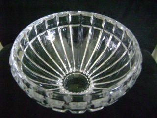 Antique American Brilliant Heavy Cut Glass Crystal Bowl Dish Center