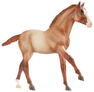 Breyer Fizz Red Roan American Quarter Horse Foal Retired