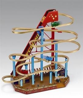 mr christmas worlds fair grand roller coaster music box time