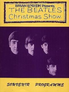 Brian Epstein Presents The Beatles Christmas Show Souvenir Programme