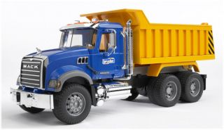Bruder Toys Mack Granite Kids Dump Truck 02815 New