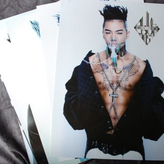 POP BIGBANG TAE YANG 12cut 12PCS Posters Collection Bromide 2012 NEW