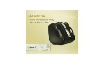 Brand New Brookstone uSqueez Pro Calf Ankle and Foot Massager by OSIM