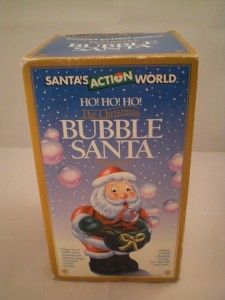 Adler Santas Action World Bubble Blowing Santa Claus Ornament