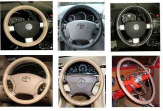 Buick Leather Steering Wheel Cover Wheelskins Custom Fit You Pick The
