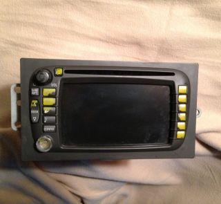Cadillac Escalade Chevy Tahoe Avalanche GMC Yukon CD Navigation Radio
