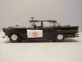 NEBRAKA SAFETY PATROL   1957 FORD FAIRLANE POLICE CAR   ROAD CHAMPS 1