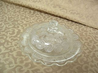 Vintage German Butter Dish Frische Butter Fresh Butter