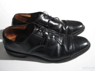 Allen Edmonds Byron Black Mens Oxford Dress Shoe 11 5 C
