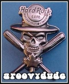 2007 Niagara Falls Hard Rock Cafe Canada Pin Skull Series HRC Lapel