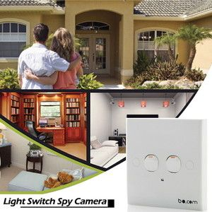 Home Business HD Light Switch Spy Hidden Covert Security Video Camera