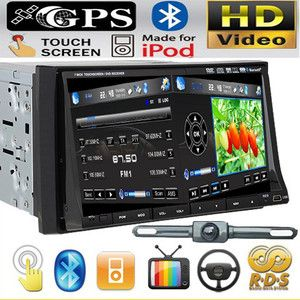 ​ Double DIN in Dash 7 Car Stereo DVD Player Radio BT iPod