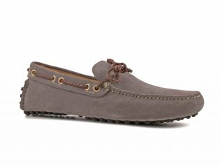 Car Shoe Mens Steel Suede Leather Driving Mocassins Shoes Size US 7 5