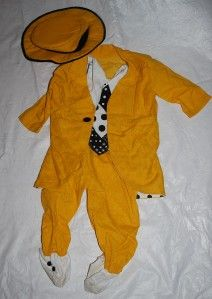 The Mask Jim Carrey Halloween Costume Baby Toddler 12 18 Months Deluxe