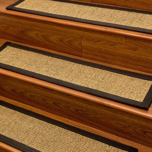 Carpet Stair Treads and Rugs 9x29 Studio Sisal