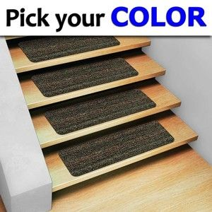 Stair Treads Non Slip Staircase Step Rug Carpet Exterior
