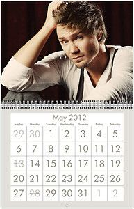 CHAD MICHAEL MURRAY 2012 Wall Calendar   ONE TREE HILL