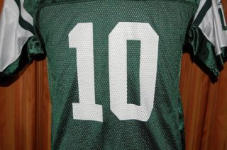 New York Jets Chad Pennington 10 NFL Reebok Football Jersey Youth Boys