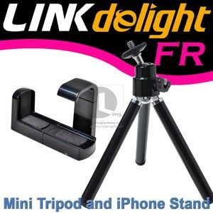 Cell Phone Mini Tripod Stand Holder for iPhone Nokia