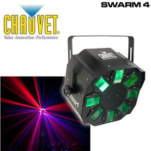 Chauvet Lighting Swarm 4 LED DMX Quad Color LED Effect
