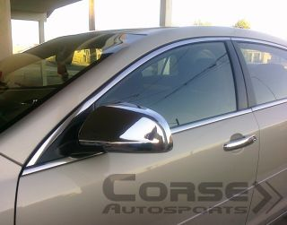 2008 2012 Chevrolet Malibu Chrome Door Handle Pillar Mirror