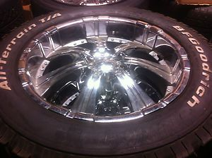 20 CHEVY GMC SUBURBAN TAHOE YUKON FORD F150 EXPEDITION WHEELS RIMS BFG