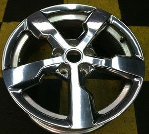 17 Polished Chevy Volt 2011 2012 Factory Chevrolet GM Wheel Rim 5482