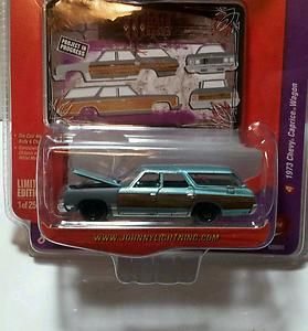 Johnny Lightning 1973 Chevy Caprice Wagon Project in Progress 73
