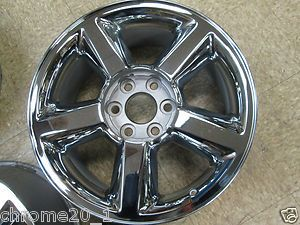 20 Chevy Avalanche Tahoe Silverado Suburban Chrome Wheel 9597685