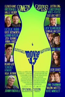 MOVIE 43 MOVIE POSTER 2 Sided ORIGINAL ROLLED 27x40 EMMA STONE
