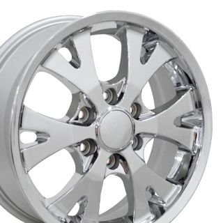Canyon Wheels 5324 Set of 4 Rims Fit Chevy GMC Colorado Z71 Z85