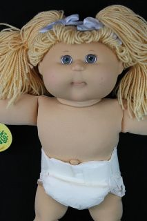 Gorgeous Cabbage Patch Kids Doll 17 2004 by Play Along Blue Eyes