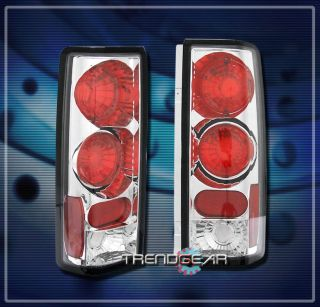 85 01 Chevy Astro GMC Safari Van altezza Brake Tail Light Chrome Set