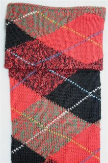 Authentic Scottish Kilt Hose Clan tartan plaid Wilson Socks wool Men