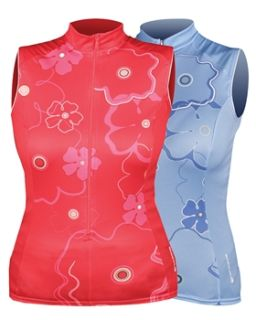 see colours sizes endura womens sleeveless geranium jersey 2013 now $