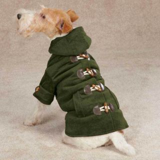 MEDIUM DOG COAT beagle corgi cocker spaniel DOG JACKET WITH TOGGLES