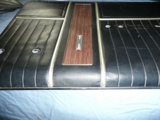 FORD GALAXIE 500 OEM convertible interior Door panels front and back