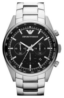 Emporio Armani Round Stainless Steel Bracelet Watch