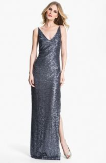 St. John Collection Sequin Gown