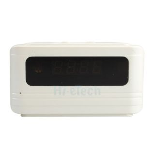 Mini Multi Function Clock Camera with Motion Detection Remote Control