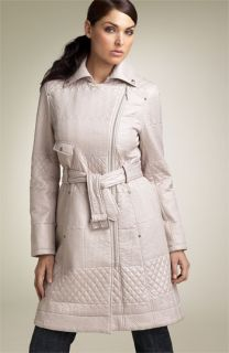 Kenneth Cole Reaction Quilted Trench