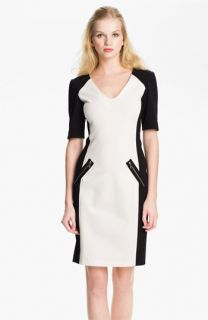 Rebecca Taylor Ponte Sheath Dress