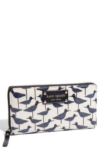 kate spade new york daycation   neda coated poplin zip around wallet