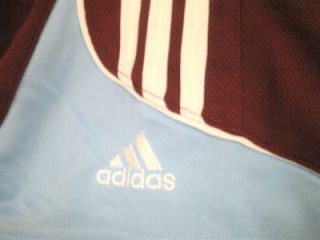 Colorado Rapids MLS Youth Soccer Adidas Shorts Maroon